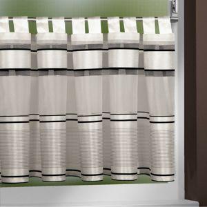 Albani Záclona krátka Buzz sivá, 140 x 45 cm