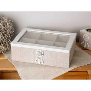 Altom Drevená krabička na drobnosti 24 x 17 x 8 cm