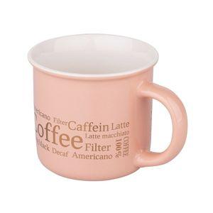 Altom Porcelánový hrnček 300 ml, Coffee Soft pink