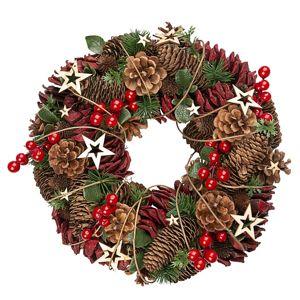 Altom Vianočný veniec Luxury 35 cm, červená