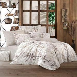 BedTex Bavlnené obliečky Masal béžová, 220 x 200 cm, 2 ks 70 x 90 cm