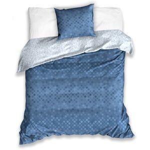 BedTex Bavlnené obliečky Snake modrá, 140 x 200 cm, 70 x 90 cm