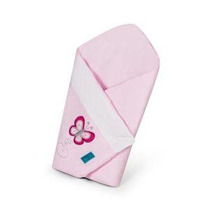 BELISIMA Vyšívaná zavinovačka Motýľ Ružová