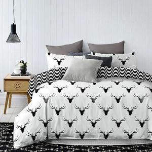 DecoKing Obliečky Hypnosis Deerest, 140 x 200 cm, 70 x 90 cm
