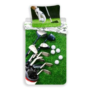Jerry Fabrics Detské bavlnené obliečky Golf, 140 x 200 cm, 70 x 90 cm