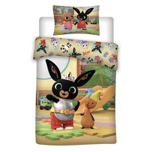 Jerry Fabrics Detské bavlnené obliečky do postieľky Bing 052, 100 x 135 cm, 40 x 60 cm