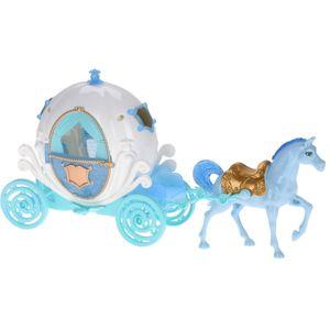 Detský hrací set Princeznin kočiar, 2 ks