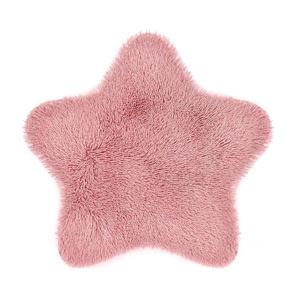 Domarex Kožušina Soft Star Plush ružová, 60 x 60 cm