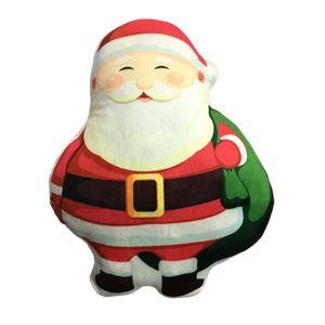 Domarex Tvarovaný vankúšik Santa Claus, 30 cm