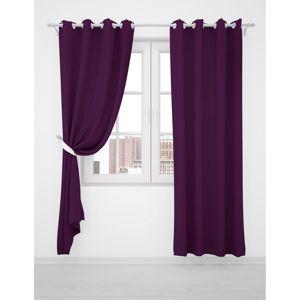 Domarex Záves Smart Velvet fialová tape violet, 135 x 250 cm