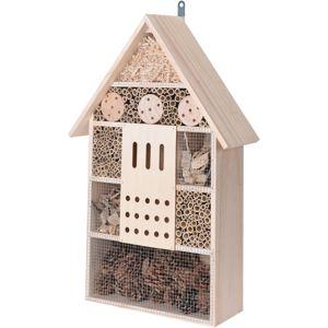 Domček pre hmyz hnedá, 11 x 37,5 x 57 cm