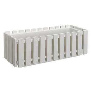 Plastkon Truhlík Fency 50 bílý 14 x 42 x 16 cm