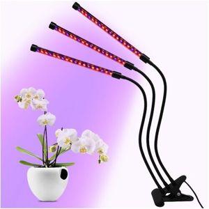Hydropónia LED svetlo pro domácu záhradku s klipsňou a časovačom, 30 W