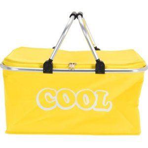 Koopman Chladiaci košík žltá, 48 x 28 x 24 cm