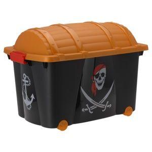 Koopman Dekoračný úložný box Pirát, 60 x 40 x 42 cm