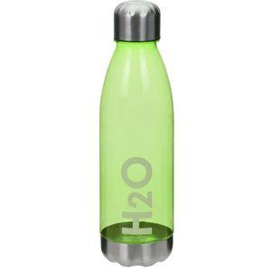 Koopman Športová fľaša s nerezovým viečkom 700 ml, zelená