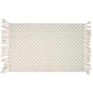 Kusový koberec so strapcami Rút, 60 x 90 cm