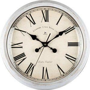 Lowell 00825D Dizajnové nástenné hodiny pr. 40 cm