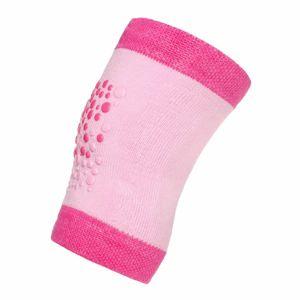New Baby Detské nákolenníky s ABS, ružová