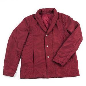 Prešívaný kabátik, vínová, XL