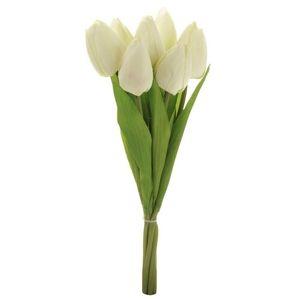 Puget červených tulipánov, 7 kvetov, 35 cm