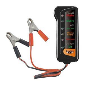 Tester autobatérií SH 102, Sharks