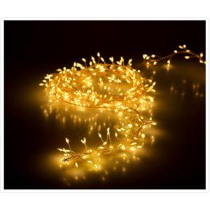 Svetelná vianočná reťaz Martiel teplá biela, 100 LED