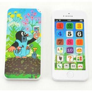 Teddies Krtkov náučný mobil s krytom, 13 x 6 cm