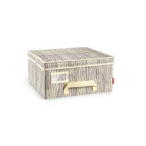 Tescoma krabica na odevy  FANCY HOME, 40 x 35 x 20 cm, smotanová