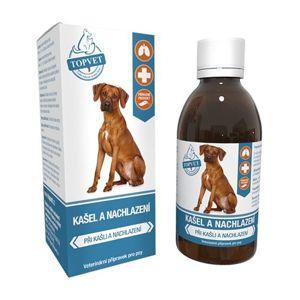 Topvet Kašeľ a prechladnutie sirup pre psov 200 ml