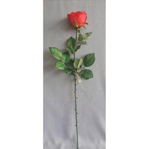 Umelá ruža červená, 69 cm