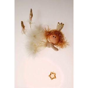 Vianočný anjel baletka Chattie, 18 x 40 cm