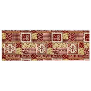 Boma Trading Vianočný behúň Gobelín červená, 32 x 96 cm