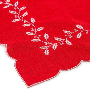 Forbyt Vianočný obrus Cezmína červená