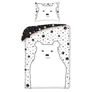 Halantex Detské bavlnené obliečky Bear, 140 x 200 cm, 70 x 90 cm