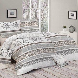 Matějovský Bavlnené obliečky Snow, 140 x 200 cm, 70 x 90 cm
