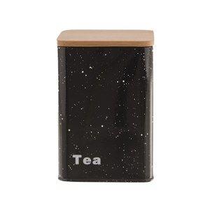 Orion Plechová dóza na čaj Mramor