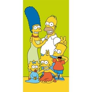 Jerry Fabrics Osuška Simpsons Family, 70 x 140 cm