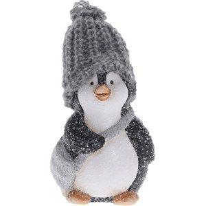 Vianočná dekorácia Tučniak Kvído, 13 cm
